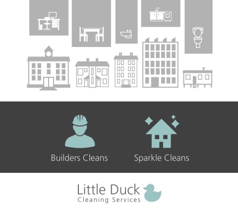 Builders and Sparkle Cleaning Services from Little Duck Cleaning in Carlisle